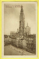 * Antwerpen - Anvers - Antwerp * (Chocolat Martougin) La Cathédrale, Hoofdkerk, Kathedraal, Rare, Old CPA - Antwerpen
