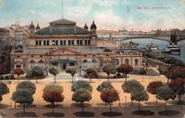 Cartolina Mainz Stadthalle 1912 - Cartoline
