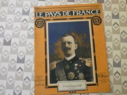 PAYS DE FRANCE N°34. 10/6/15. VICTOR EMMANUEL. CARENCY. STRASBOURG. ARTOIS. POINCARE.DARDANELLES. ALSACE. ALBATROS. - Français