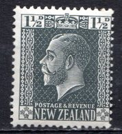 OCEANIE - Nelle ZELANDE - (Colonie Britannique) - 1915-21 - N° 164 - 1 1/2 P. Gris-noir - (George V) - Neufs