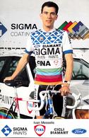 MESSELIS Ivan BEL (Roeselare (West-Vlaanderen), 28-3-'58) 1988 Sigma - Fina - Cyclisme
