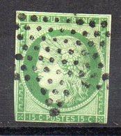 Sello Nº 2  Francia - 1849-1850 Ceres