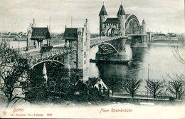 007563  Bonn - Neue Rheinbrücke - Bonn