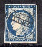 Sello Nº 4  Francia - 1849-1850 Ceres