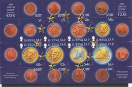 Eurocoins 2002 - Gibraltar