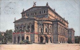 Cartolina Frankfurt Oper 1912 - Cartoline