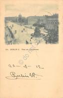 Cartolina Berlin Platz Am Opernhause 1912 - Cartoline