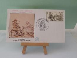 Rembrandt - Journée Du Timbre - 59 Lille - 26.2.1983 FDC 1er Jour (Numismatique Française) Coté 3€ - FDC
