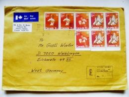 Cover Canada Olympic Games 1976 Fencing Boxing Judo Montreal Registered Ottawa - 1952-.... Règne D'Elizabeth II