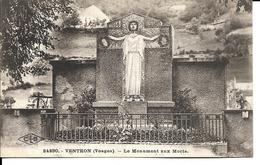 88 - Ventron - Le Monument Aux Morts - Francia