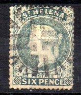 Sello Nº 11a  St. Helena - Isla Sta Helena
