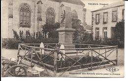 88 - Vecoux - Monument Des Soldats Morts Pour La France - France