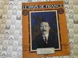 PAYS DE FRANCE N°37. 1/7/15. VIVIANI. YSER. FLANDRE. CARENCY. HOMMAGE DES ECOLIERS. MEUSE. BOIS LE PRETRE.ALSACE. - Français