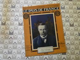 PAYS DE FRANCE N°38. 8/7/15. LLOYD GEORGE. CAREENCY. BELGIQUE. POINCARE. ARGONNE. DIABLES BLEUS.BOIS LE PRETRE. - Français