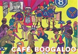 AK Grossbritannien Swansea Cafe Boogaloo Band Tanzen - Hotels & Gaststätten