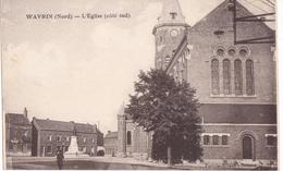WAVRIN L L'église Côté Sud - France