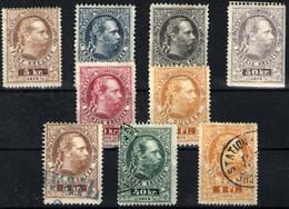 Austria Nº 5/15. Año 1874/76 - Telégrafo