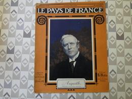 PAYS DE FRANCE N°40. 22/7/15. ASQUITH. SOUCHEZ. WOEVRE. NOTRE AEROSTATION. AVIATEUR GILBERT. CALOTTE. - Français