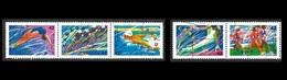 Canada  1992 -   YT 1229/33  -  Jeux Olympiques Barcelone 1992  -    Oblitérés - 1952-.... Règne D'Elizabeth II