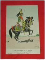 Uniformes  Empire - ( 12 Série N 2 ) - Général Baraguay D'Hilliers - Illustrateur H. Feist - Uniformes