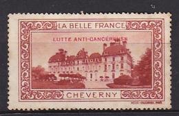 France Erinophilie LA BELLE FRANCE CHEVERNY Lutte Anti-cancéreuse - Autres