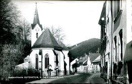 007570  Sommerfrische Gutenstein - Pfarrkirche  1960 - Gutenstein