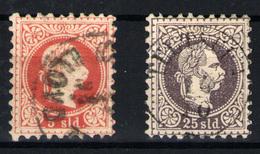 Levante Austriaco Nº 3 Y 6a. Año 1867 - 1850-1918 Empire