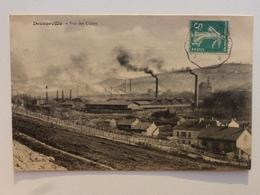 12 DECAZEVILLE  Carte Rare En Très Bel état - Vue Des Usines  DEN889 - Decazeville