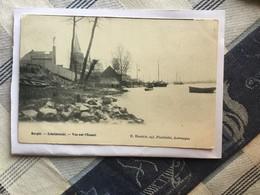 BURCHT BIJ ZWIJNDRECHT  1902   BURGH SCHELDEZICHT  VUE SUR L' ESCAUT - Zwijndrecht