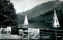 007574  Lunzersee Mit Scheiblingstein. Blick V. D. Pension Pfeiller - Lunz Am See