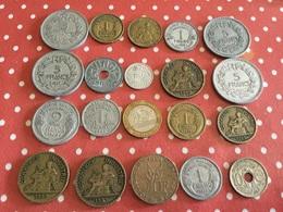 Lot De 20 Pièces Voir Le Scan - Munten & Bankbiljetten