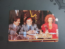 Private Issued Urmet Phonecards,French President? Picture Not Authentic ,used - Argentinië