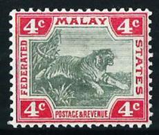 Malasia (Británica) Nº 17 Nuevo* - Federated Malay States