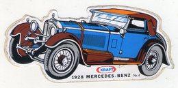 AUTOCOLLANT . STICKER .  KRAFT N°4  . 1928  MERCEDES - BENZ - Autocollants