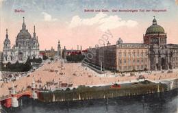 Cartolina Berlin Schloss Und Dom 1921 - Cartoline