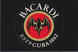 CARTOLINA -PROMOCARD 1207 Free Cards - BACARDI. THE WORLD'S GREAT RUM SINCE 1862 - Pubblicitari