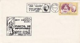 POLAR PHILATELY, PHILATELIC EXHIBITION, POLAR BEAR, PENGUIN, EMIL RACOVITA, SPECIAL COVER, 1986, ROMANIA - Events & Commemorations