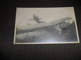 Aviation ( 109 ) Avion Vliegtuig Pilote  Piloot   Aviateur  :  Fotokaart  Carte Photo  Accident D' Avion  à Identifier - Aviadores