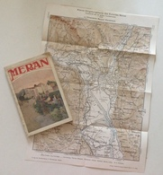 Meran Guida Illustrata Della Stazione Climatica Meran La Perla Del Tirol 1920 - Libri, Riviste, Fumetti