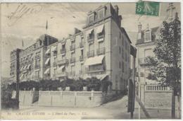 CPA Dept 63 CHATEL GUYON Hotel Du Parc - Châtel-Guyon