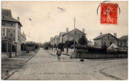 95 DOMONT - Avenue De La Gare - Domont