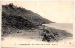 """14 VILLERS-sur-MER - Les Falaises Vues De La Villa """"Espérenza"""" - Villers Sur Mer"""