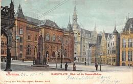 Cartolina Bremen Markplatz 1902 - Cartoline