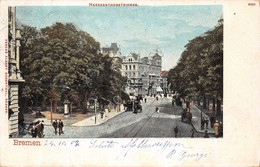 Cartolina Bremen Heerdenthorsteinweg 1902 - Cartoline