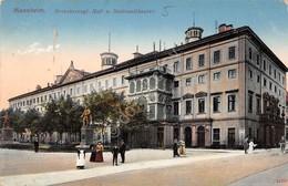 Cartolina Mannheim Grossherzogl. Hof. U. Nationaltheater 1912 - Cartoline
