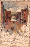 Cartolina Munchen Karlstor 1903 - Cartoline