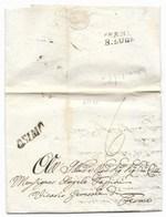 DA OSIMO A FERMO - 7.7.1842. - Italia
