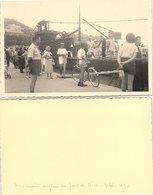 PHOTO 132 X 84. SOUS MARIN ANGLAIS AU PORT DE NICE SEPT 1950 - Unclassified