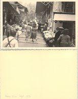 PHOTO 132 X 84. VIEUX NICE SEPT 1950 - Photographica