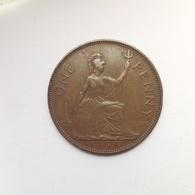 1 Penny Münze Aus Großbritannien Von 1938 (sehr Schön) - Sonstige